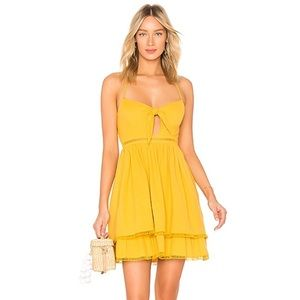 Endless Rose | Baby Doll Dress in Canary Yellow